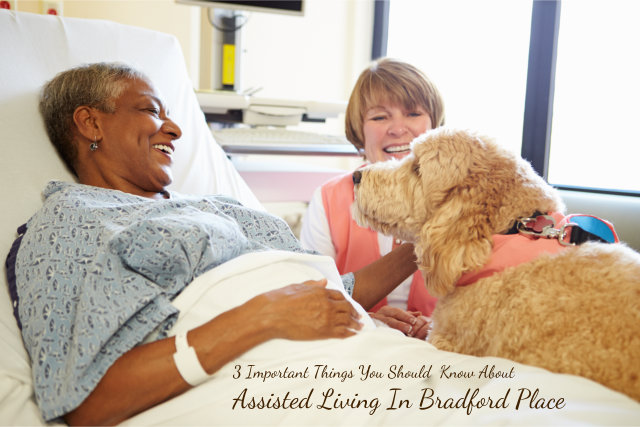 3 Important Things You Should Know About Assisted Living In Bradford Place