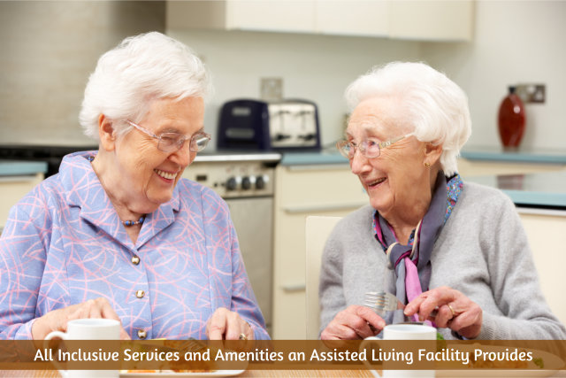All Inclusive Services and Amenities an Assisted Living Facility Provides