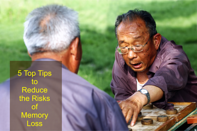 5 Top Tips to Reduce the Risks of Memory Loss